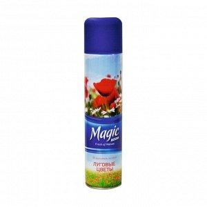 Освеж воздуха универс.аэр.луговые цветы, Magic Boom, 300мл
