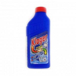 Средство для устранения засоров и прочистки труб, Kloger, 500мл