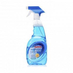 Чистящее средство для стекол, Морская свежесть, Haus Frau, 750мл