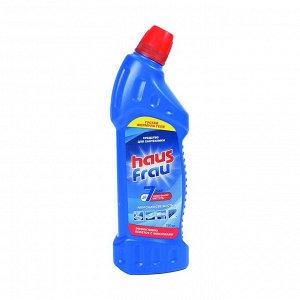 Гель для чистки сантехники Морская свежесть, Haus Frau, 750мл