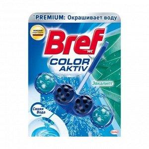 Чистящий блок эвкалипт, Henkel Bref Колор Актив, 50г