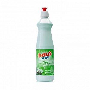 Гель для чистки сантехники с кислотами Хвоя, Haus Frau, 750мл