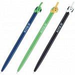 Ручка шариковая автоматическая Kite Color Dog K20-030-02, синяя