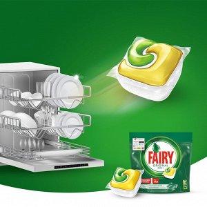 Средство для мытья посуды в капсулах FAIRY Original All in One  для посудомоечных машин (48 шт.)