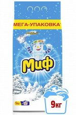 Стиральный порошок МИФ Автомат Морозная свежесть (9 кг)