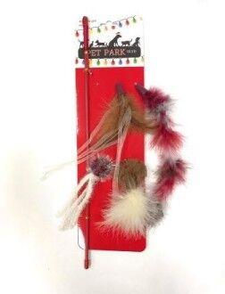 Petpark игрушка для кошек Christmas дразнилка, 5 сменных наконечников