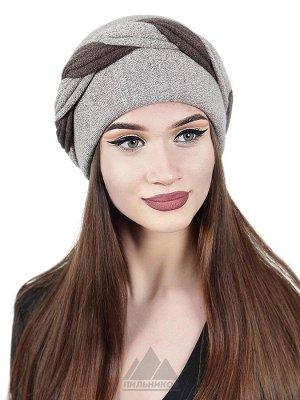 Трикотажная шапочка с валикомСтефания