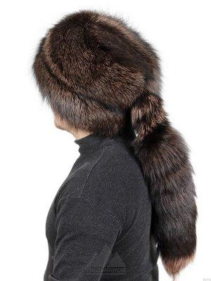 Монголка из меха лисы с хвостомБертон