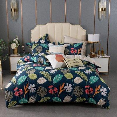 Роскошная постель - залог успешного дня! Новинки!🛌 — Люкс Сатин 100% хлопок (на резинке) — Спальня и гостиная