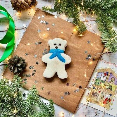 Вкусная косметика Tasha - готовим подарочки к Новому году — Твердая пена для ванны — Пены и соли для ванны