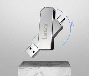 Флеш накопитель Lexar D30c USB 3.1 Type-C 32GB