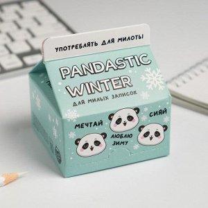 Бумага для записей Pandastic winter, 150 листов