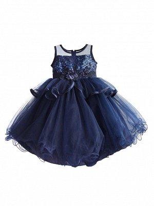 Платье Zoe Flower ZF187 navy