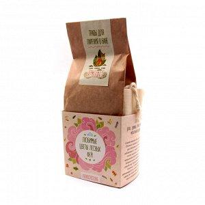 Набор трав для парения в бане Любимые цветы - Душица Липа Мелисса Мускатный Шалфей