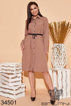 Платье рубашка-34501