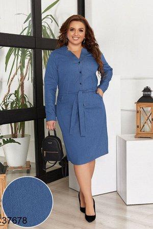 Джинсовое платье-37678