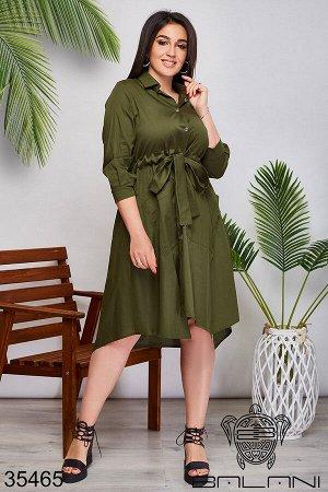 Платье- рубашка-35465
