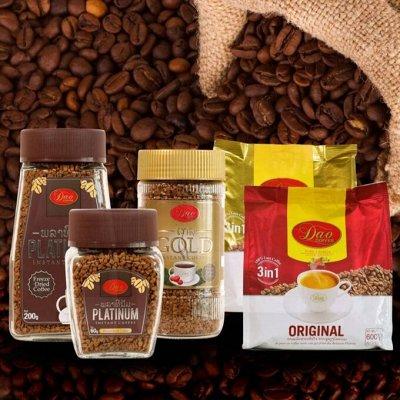 Самый большой выбор каш ТМ Ясно Солнышко - вкусно, полезно — *НОВИНКА* КОФЕ натуральный растворимый DAO (Лаос) — Растворимый кофе