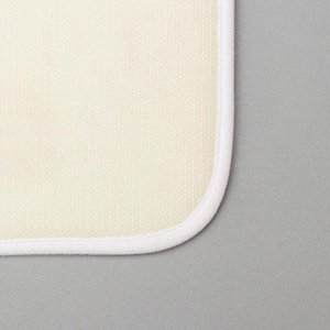 Набор ковриков для ванны и туалета «Вишня» 2 шт, 79?49, 49?40 см