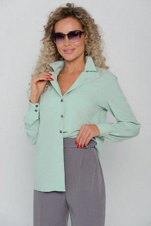 БЛУЗА Длина блузы измеряется по спинке от основания шеи до низа изделия.   Для размера 42 длина блузы составляет 63 см; для размера 44 - 64 см; для размера 46 - 65 см; для размера 48 - 66 см; для разм