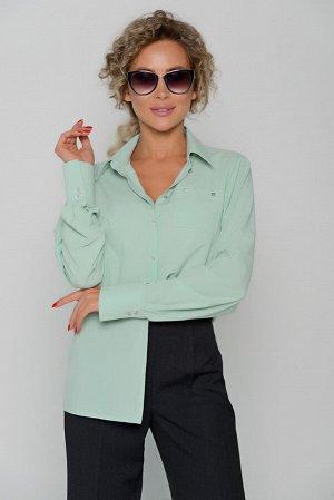 БЛУЗА Длина блузы измеряется по спинке от основания шеи до низа изделия.   Для размера 42 длина блузы составляет 64 см; для размера 44 - 65 см; для размера 46 - 66 см; для размера 48 - 67 см; для разм