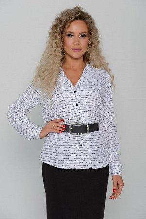 БЛУЗА Длина блузы измеряется по спинке от основания шеи до низа изделия.  Для размера 42 длина блузы составляет 63 см; для размера 44 - 64 см; для размера 46 - 65 см; для размера 48 - 66 см; для разме