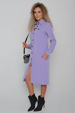 Платье Длина платья измеряется по спинке от основания шеи до низа изделия.  Для размеров 42, 44, 46 длина платья составляет 102 см; для размера 48 - 103 см; для размера 50 - 104 см; для размера 52 - 1