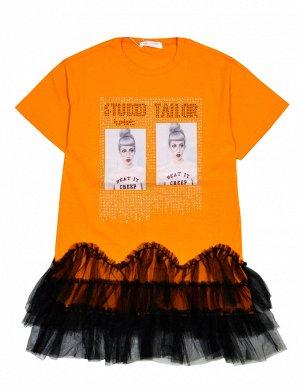 Платье Colabear 684770 Оранжевый *