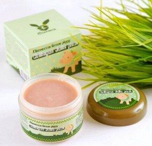 Высококонцентрированная коллагеновая маска для упругости и эластичности кожи лица Green Piggy Collagen jella pack