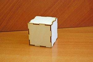 Кубик Кубик, (продается в разобранном виде в палетках), размер 8*8*8 см, материал: фанера 3 мм   Самый простой куб вы можете превратить в очень красивый элемент декора, так как он имеет целых шесть ро
