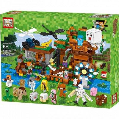 MINECRAFT и другие популярные игрушки — Игрушки и Конструкторы  Майнкрафт — Конструкторы и пазлы