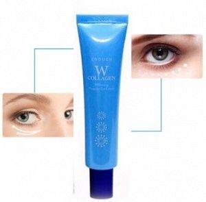 Осветляющий крем для век с коллагеном  W Collagen Whitening Premium Eye Cream