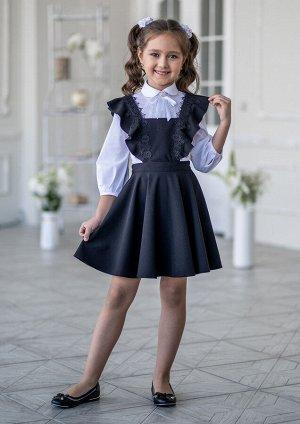 Сарафан школьный Карина черный