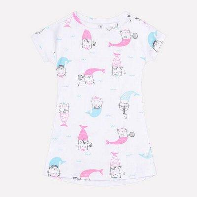 ~Крокид - Вся детская одежда — Майки, пижамы, халаты, сорочки|girls — Одежда для дома