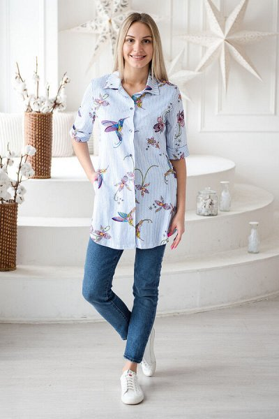 Амадель ** Осенний ценопад Скидки до 80% — Туники, блузы, футболки — Рубашки и блузы