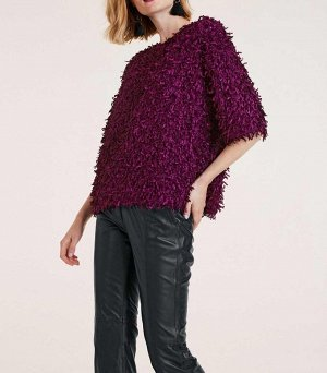 Пуловер, цикламен