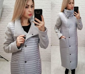 Пальто демисезонное стеганое