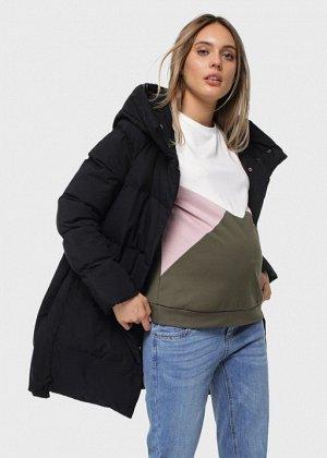 """Куртка зимн. 2в1 """"Терстон"""" для беременных; черный"""