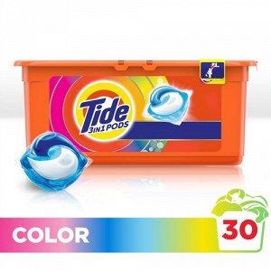 TIDE СМС жидк. в растворимых капсулах Color 30х24.8г