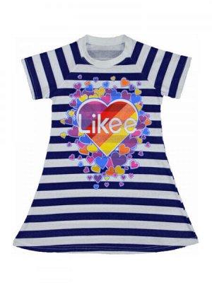Платье полосатое Likee