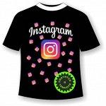 Подростковая футболка Инстаграм (Instagram) 1119