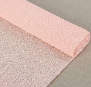 Гофра Италия 140г*м 50*250см №969 светло-розовая
