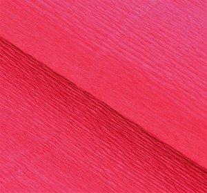 Гофра Италия 140г*м 50*250см №951 ярко-розовая