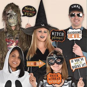 Фотобутафория HWN Хеллоуин Слова 13шт/A