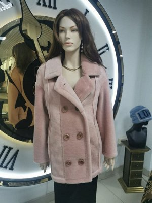 Куртка из шерсти керли