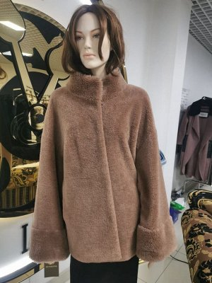 """Куртка из шерсти керли """"капучино"""""""