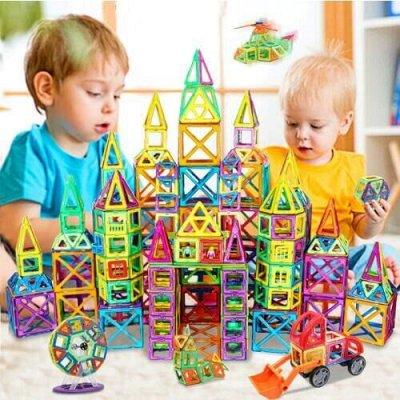 MINECRAFT и другие популярные игрушки — Игрушки Магнитные конструкторы — Конструкторы и пазлы