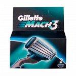 GILLETTE  MACH3  кассета 2 шт