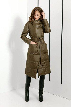 Пальто DI-LiA FASHION 0396 хаки