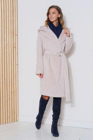 Пальто Пальто Фантазия Мод 3782  Состав ткани: ПЭ-80%; Шерсть-20%;  Рост: 164 см.  Девушка в пальто всегда смотрится элегантнее и женственнее, чем дама в куртке или пуховике. Оно преображает не тольк